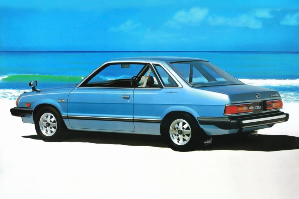 Subaru Leone Coupe Modell 1979