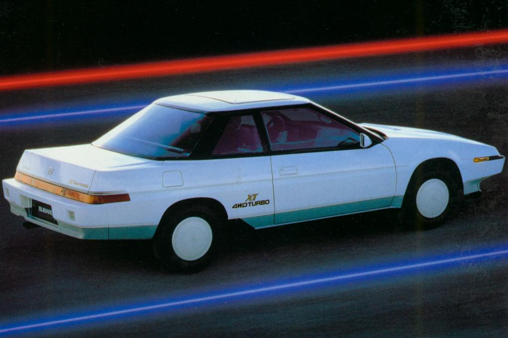 Subaru XT Turbo 4WD 1985