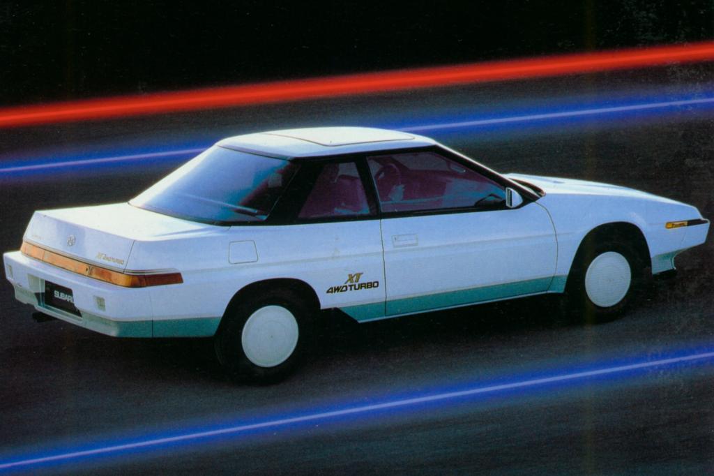 Subaru XT Turbo 4WD 1985