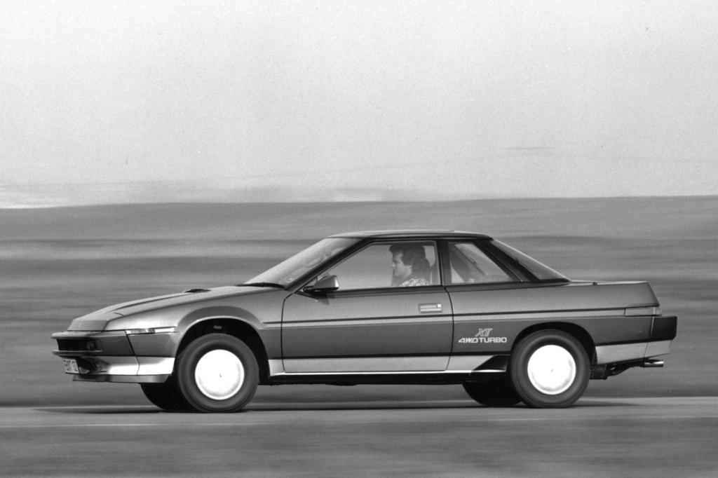 Subaru XT Turbo 4WD 1988