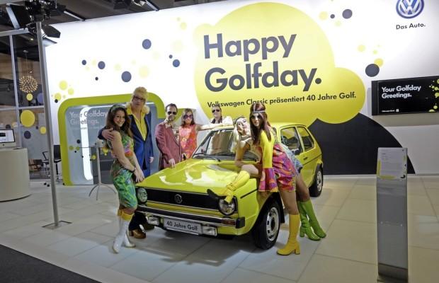 Techno-Classica 2014: VW gibt Geburtstagskuchen aus