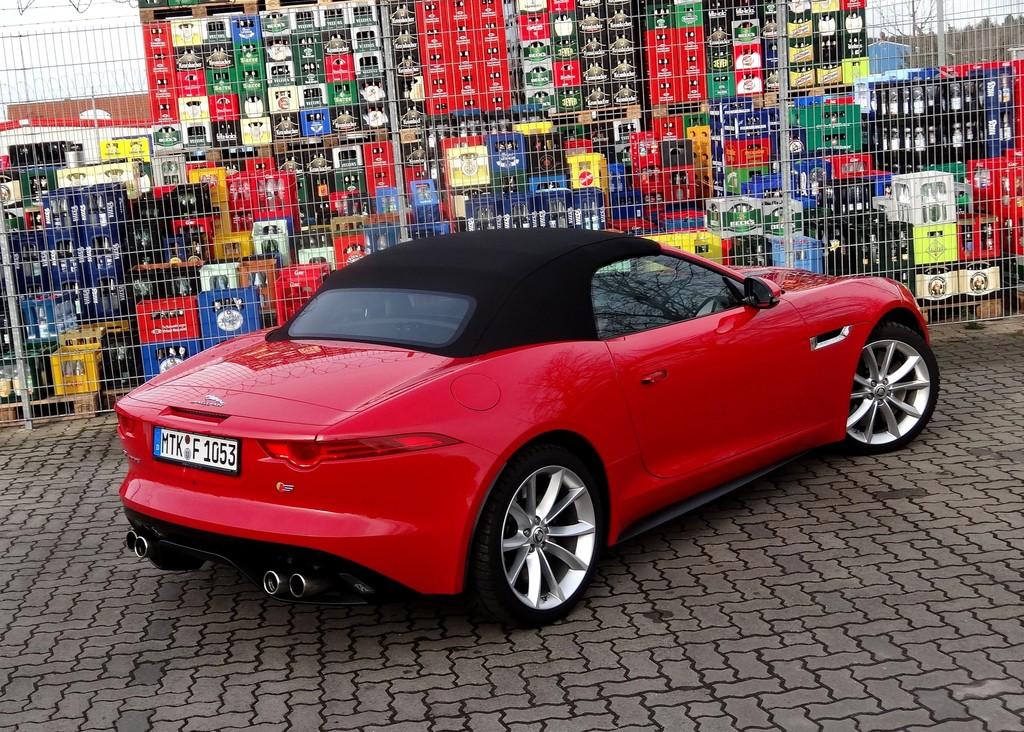 Test Jaguar F-Type Roadster - Das rockt gewaltig
