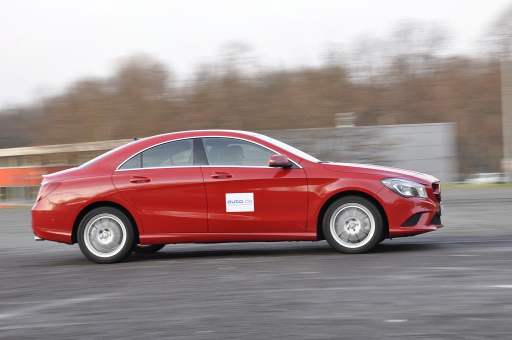 Test Mercedes CLA 250 4MATIC - Rattenscharf und hammerhart