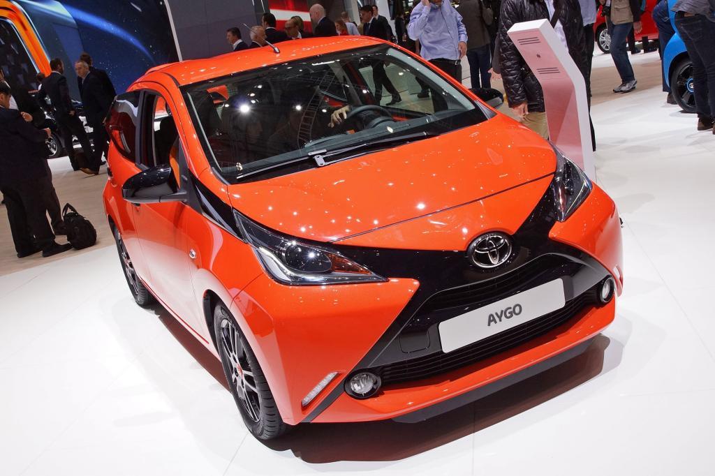 Toyota Aygo in Genf