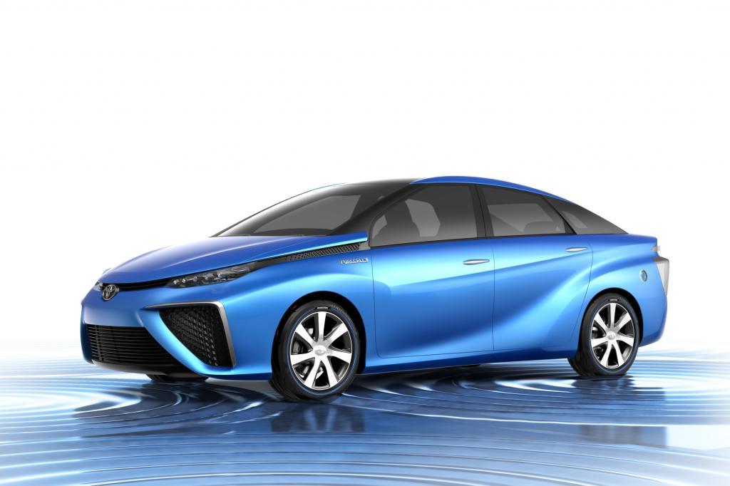 Toyota will sein Brennstoffzellenauto 2015 auf den Markt bringen