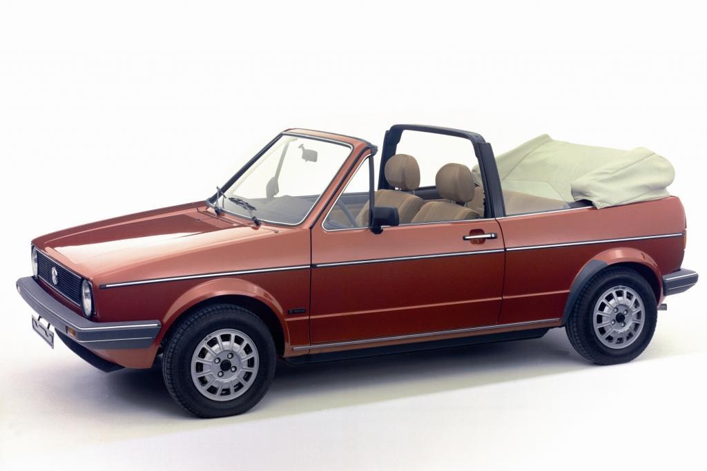 VW Golf Cabrio ab 1979