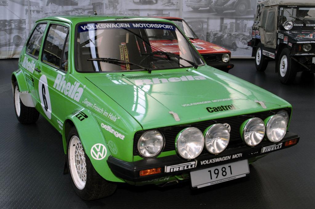 VW Golf Rallyeversion 1981