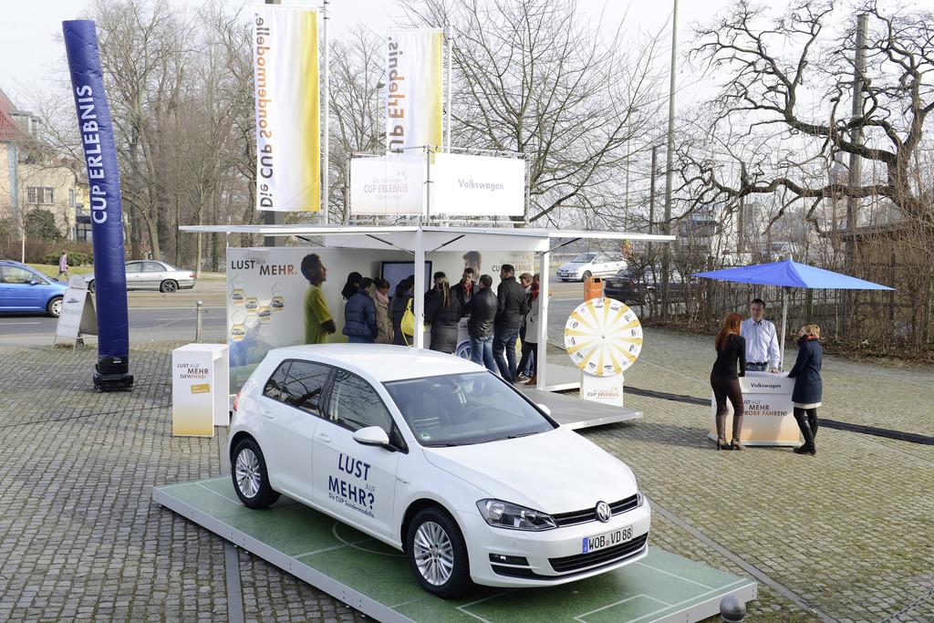 VW-Partner präsentieren Cup-Sondermodelle