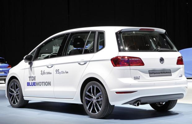 VW bringt Golf Sportsvan als Blue Motion