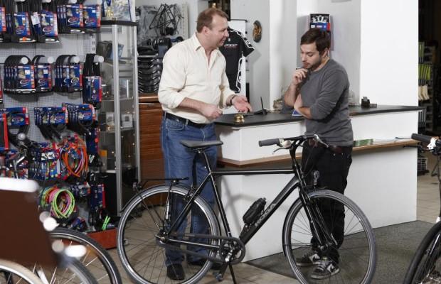 Vertriebswege für Fahrräder - Fachhandel in Führung
