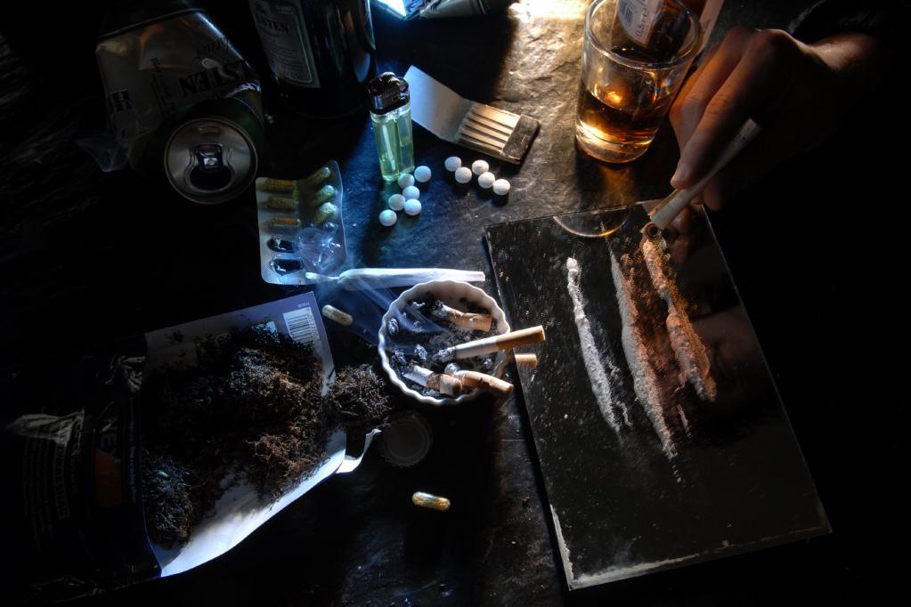 Viele fahren im Drogenrausch