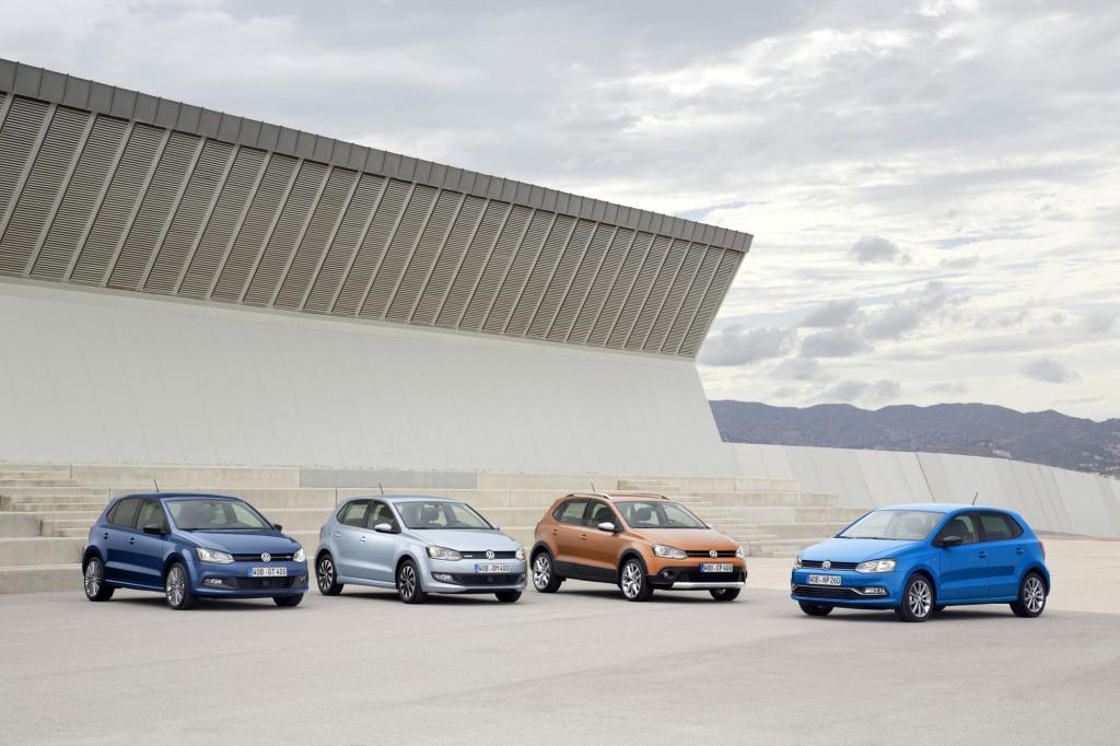 Volkswagen hat die seit 2009 angebotene fünfte Generation des Kleinwagens Polo überarbeitet und schickt sie nun zum Händler. - Foto: VW