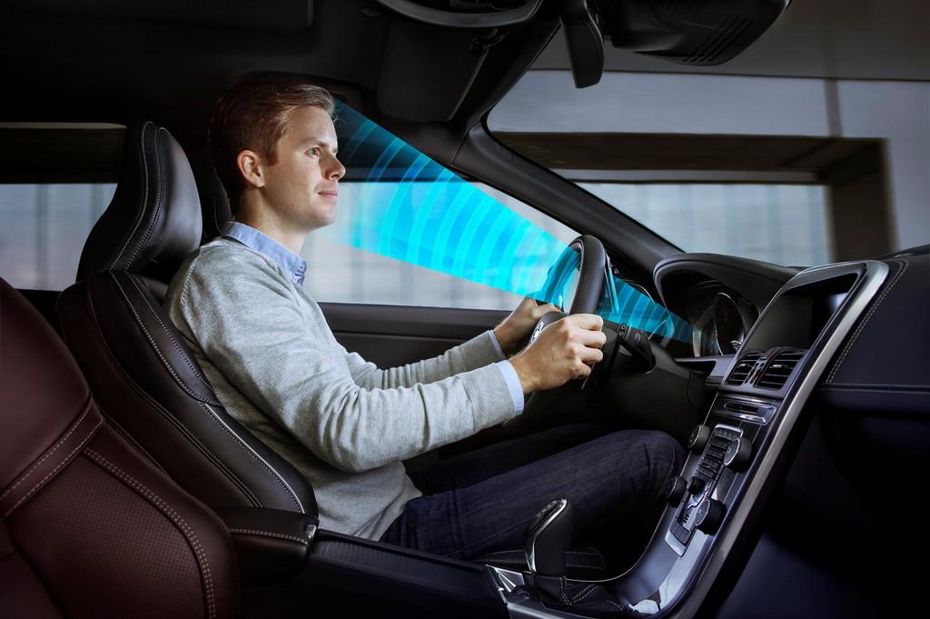 Volvo hält Blickkontakt