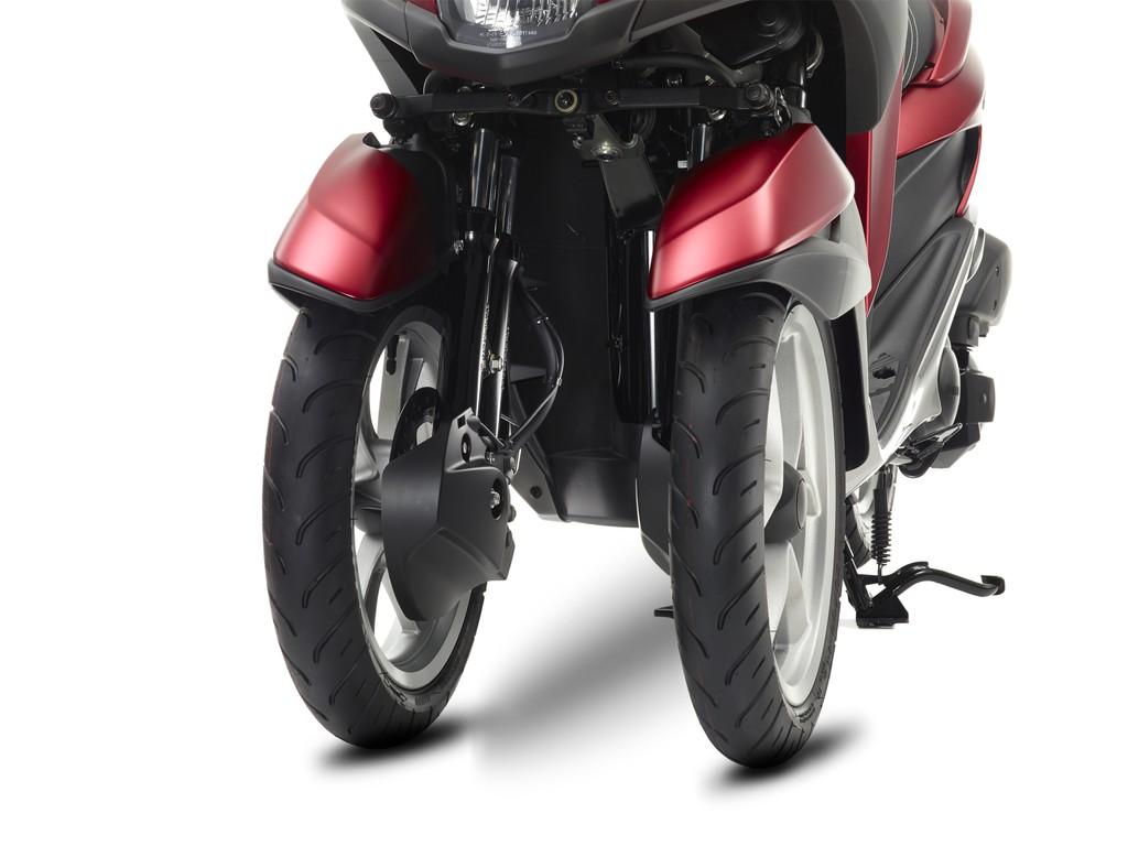 Yamaha Tricity rollert mit Neigetechnik