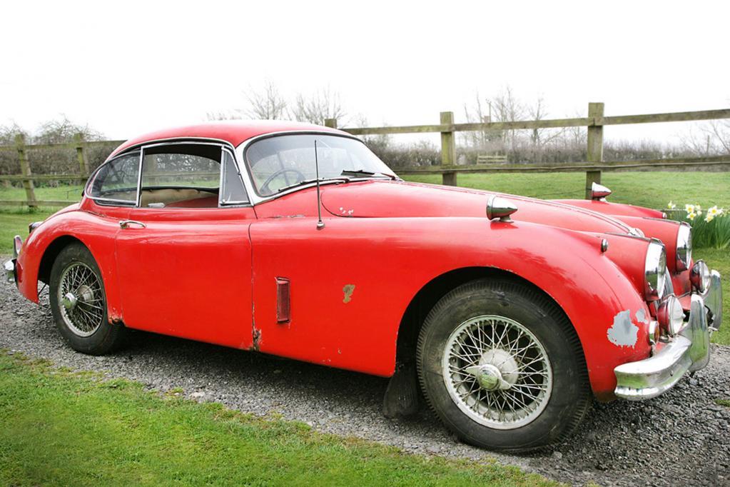 Zwei Jaguar-Scheunenfunde kommen unter den Hammer - FOto: Silverstone Auctions