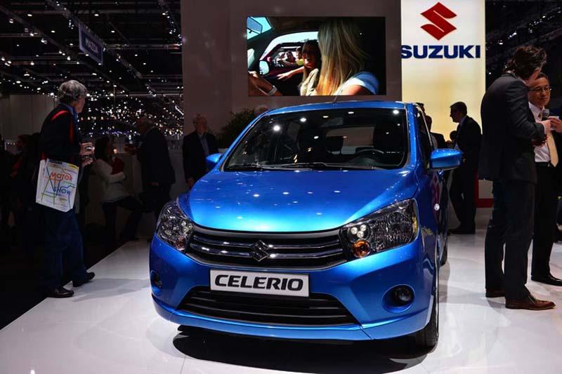 Zwei Motoren sieht Suzuki im deutschen Markt für den neuen Celerio vor.