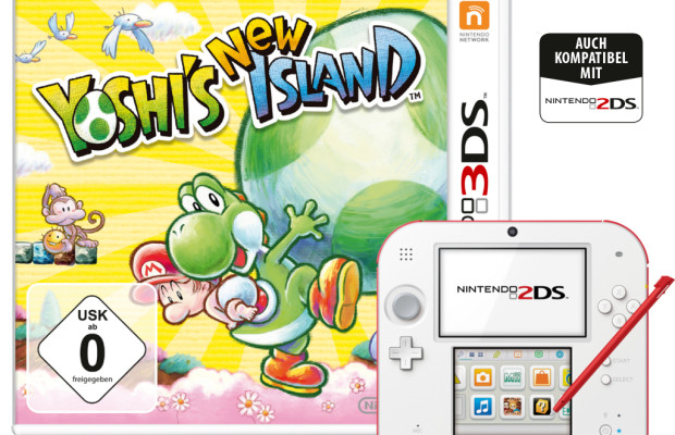 auto.de-Ostergewinnspiel: Yoshi's New Island plus Nintendo 2DS