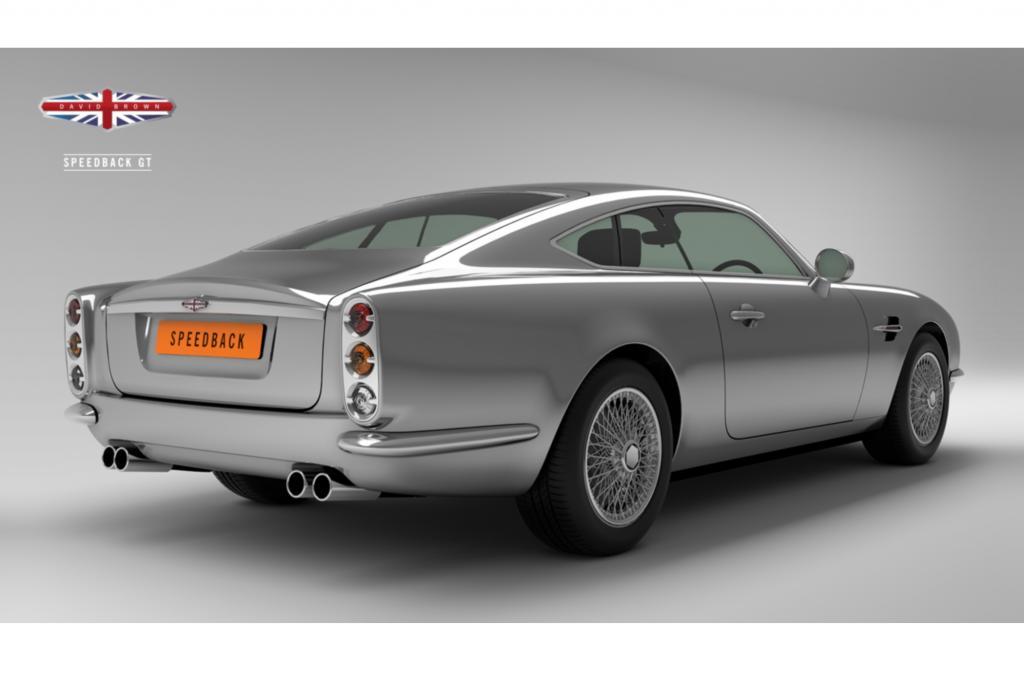 """echnisch basiert das """"Speedback"""" genannte Modell auf dem seit 2006 gebauten Jaguar XKR, dessen  Foto: © David Brown Automotive 5,0-Liter-V8-Kompressor 375 kW/510 PS leistet"""