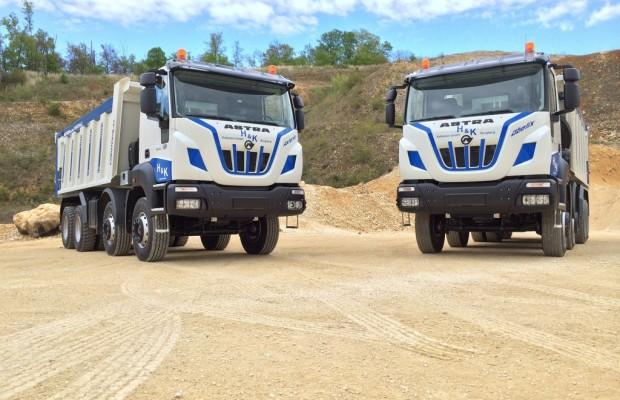 Astra verkauft die ersten Schwer-Lkw in Deutschland