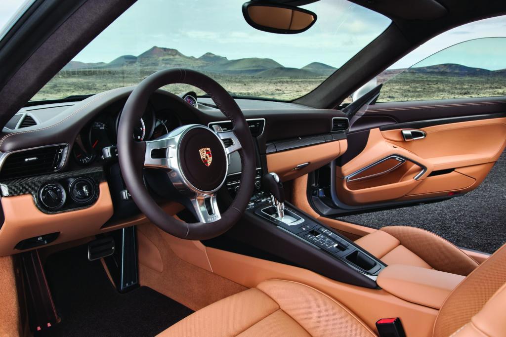 Auch innen zeichnen den Turbo S die üblichen Porsche-Tugenden aus
