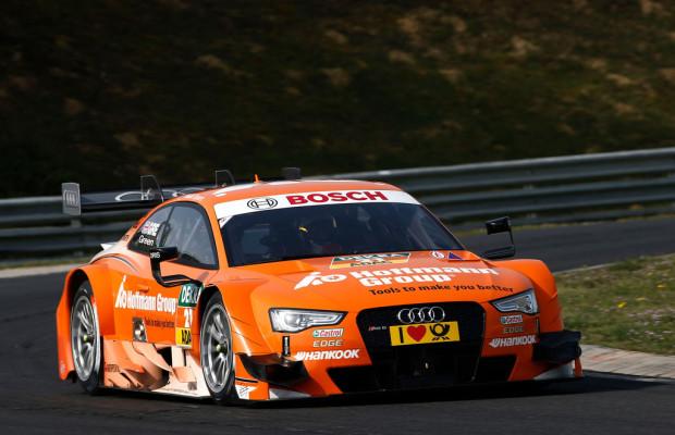 Audi mit Testfahrten mit Audi RS 5 DTM zufrieden