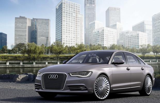 Audi und FAW kooperieren bei Plug-in-Hybrid für China