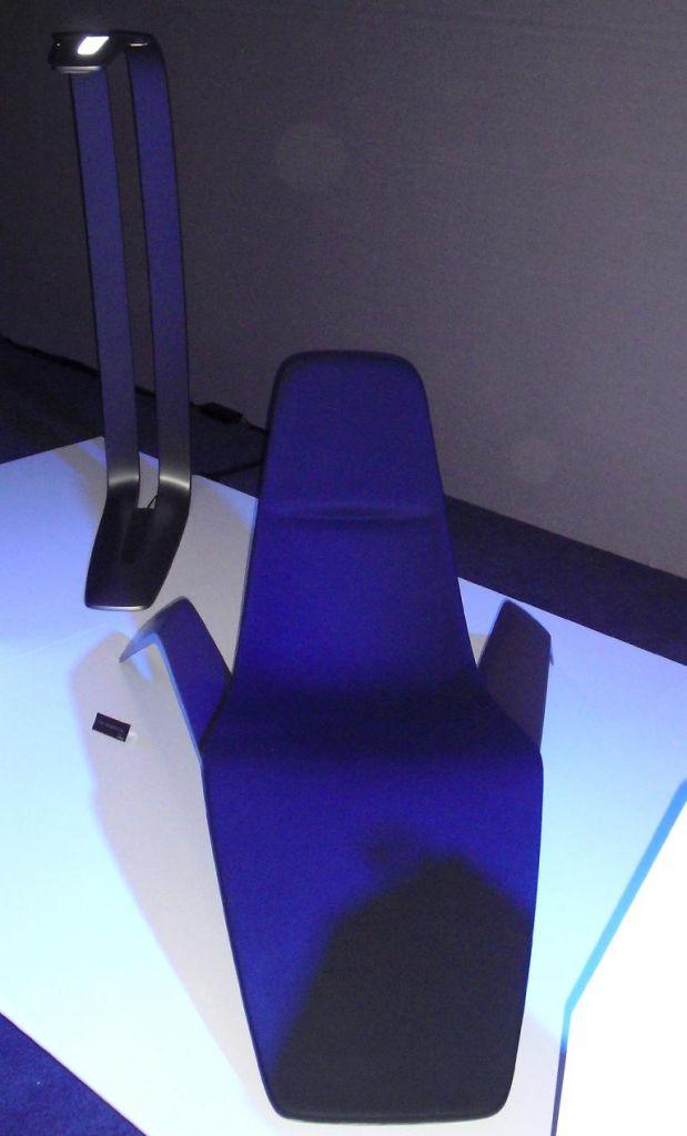 Aus der ersten Ford-Kollektion: Stuhl und Lampe sind ...