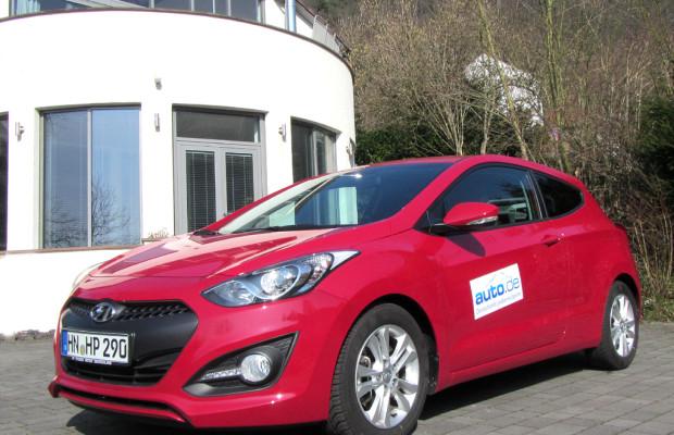 Auto im Alltag: Hyundai i30 Coupé 1.6 CRDi Design