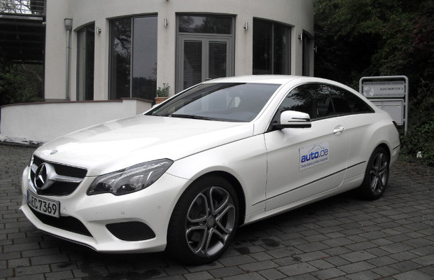 Auto im Alltag: Mercedes E-Klasse-Coupé 220 CDI