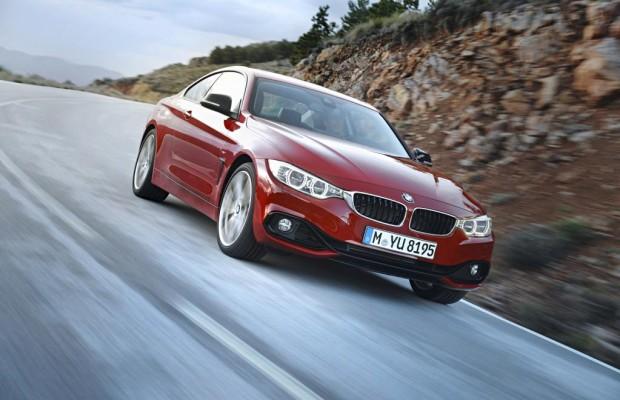 BMW 4er Coupé fährt auf Hankook Ventus S1 evo2