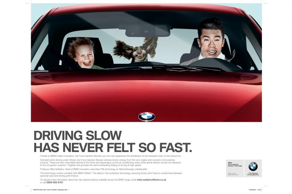 BMW bietet Fahrfreude auch bei geringem Tempo - BMW