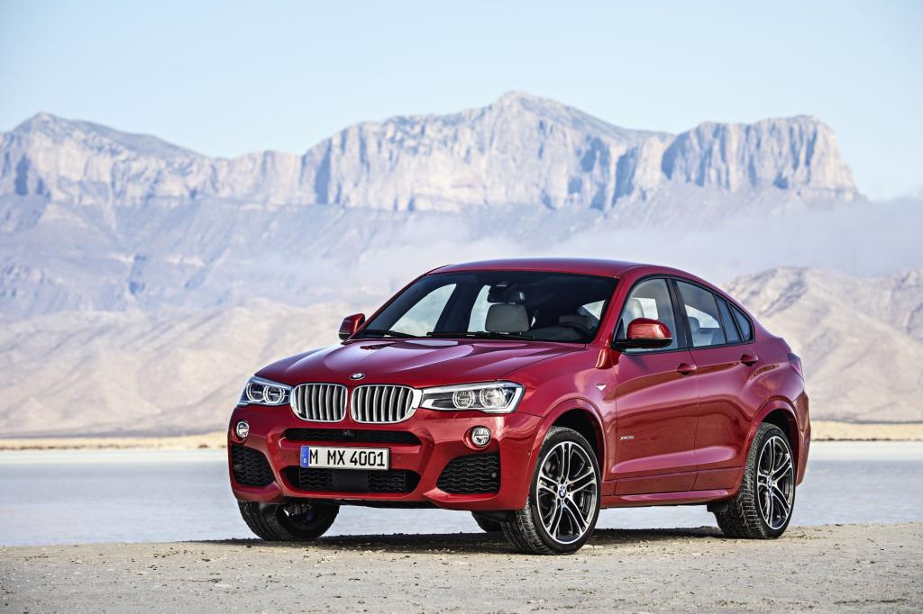 BMW hat den X4 im Gepäck - Bild: BMW