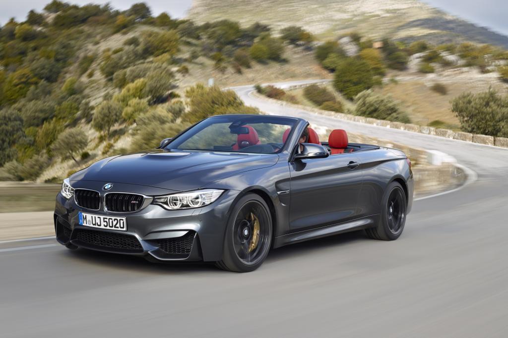 BMW lässt im Herbst das M4 Cabrio von der Leine