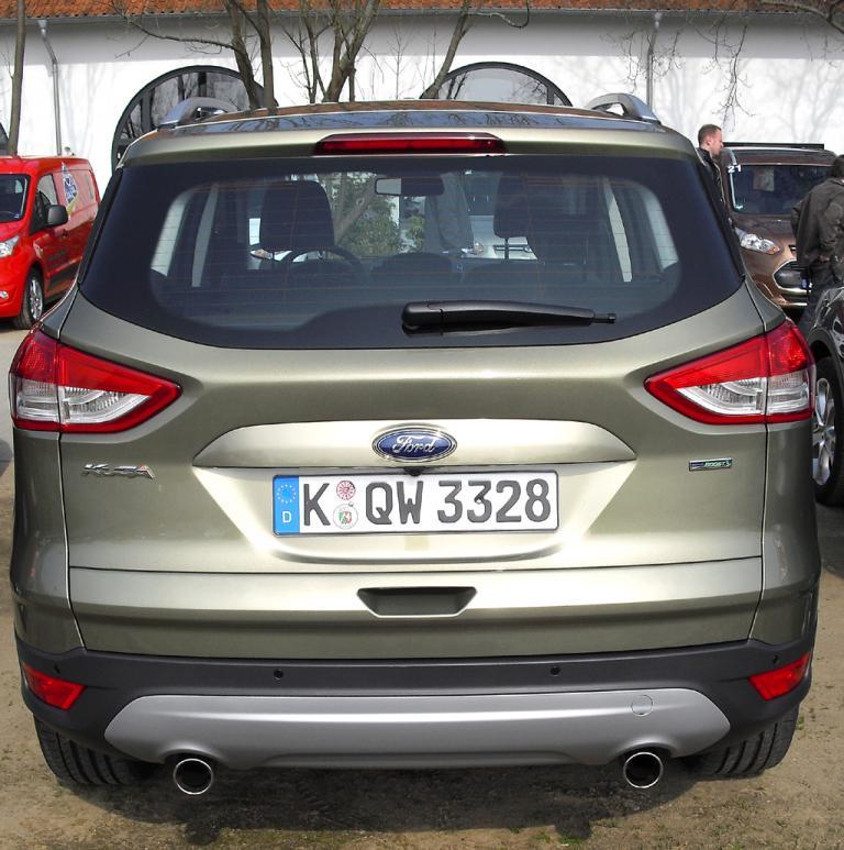 Bereits auf der Straße: Ford-Kuga-Neuauflage.