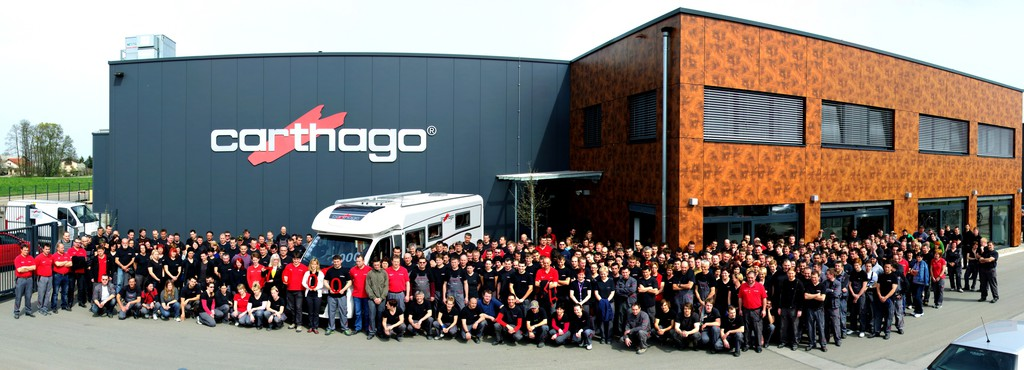 Carthago baut 7000 Reisemobile in Slowenien