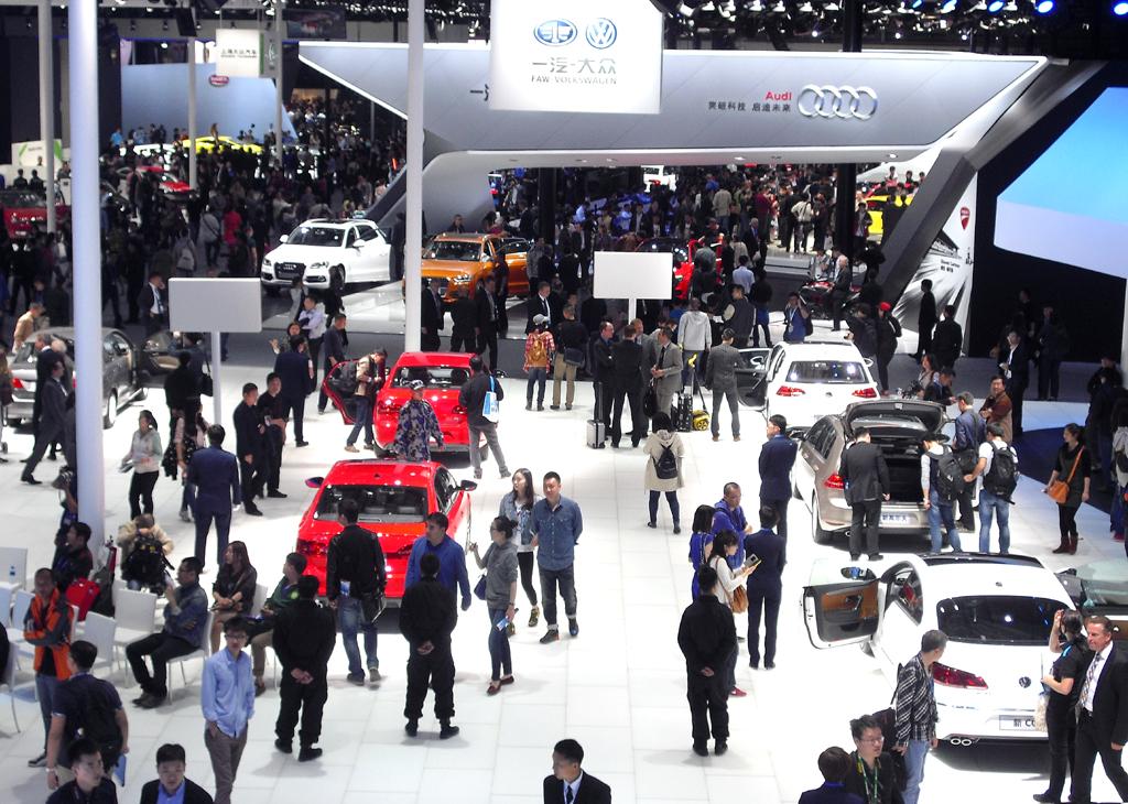 Das Interesse an Volkswagen ist in China groß.
