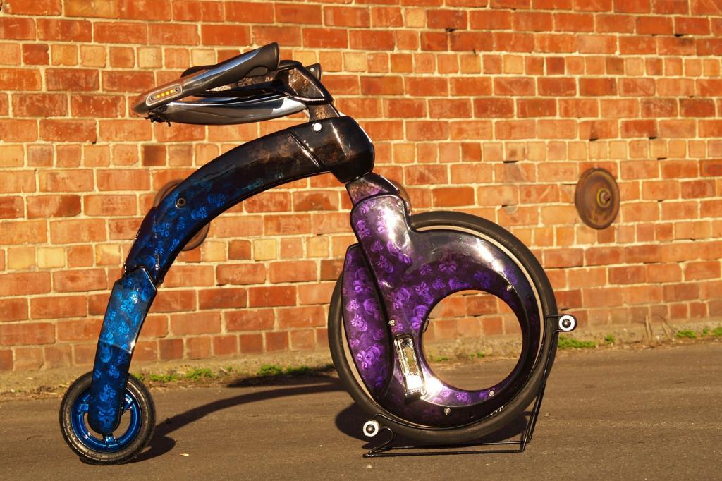 Das Yike Bike ist nicht nur ein Elektroroller für urbane Faulpelze. Foto: © Yike Bike