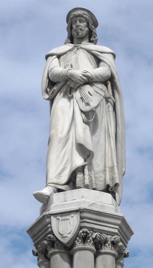 Denkmal Walther von der Vogelweides.