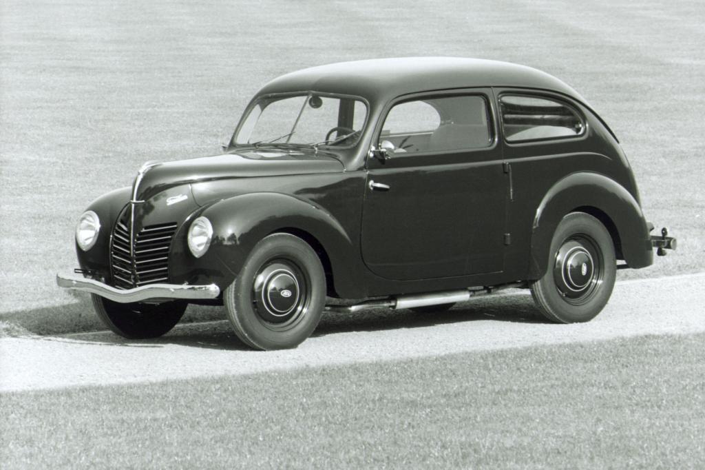 Der Ford Taunus mit dem internen Code G93A feierte im Frühling 1939 sein umjubeltes Debüt