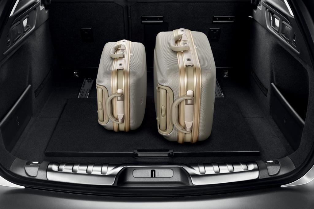 Der Kofferraum punktet mit bis zu 1.600 Litern Stauvolumen