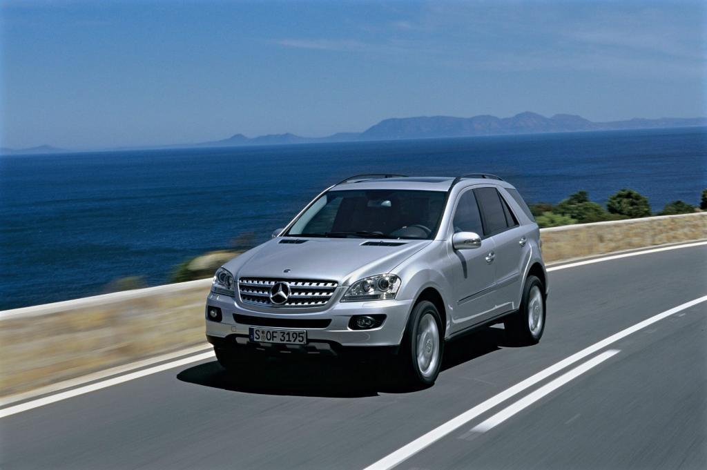 Der Mercedes ML zählt zu den besonders beliebten Luxus-SUV
