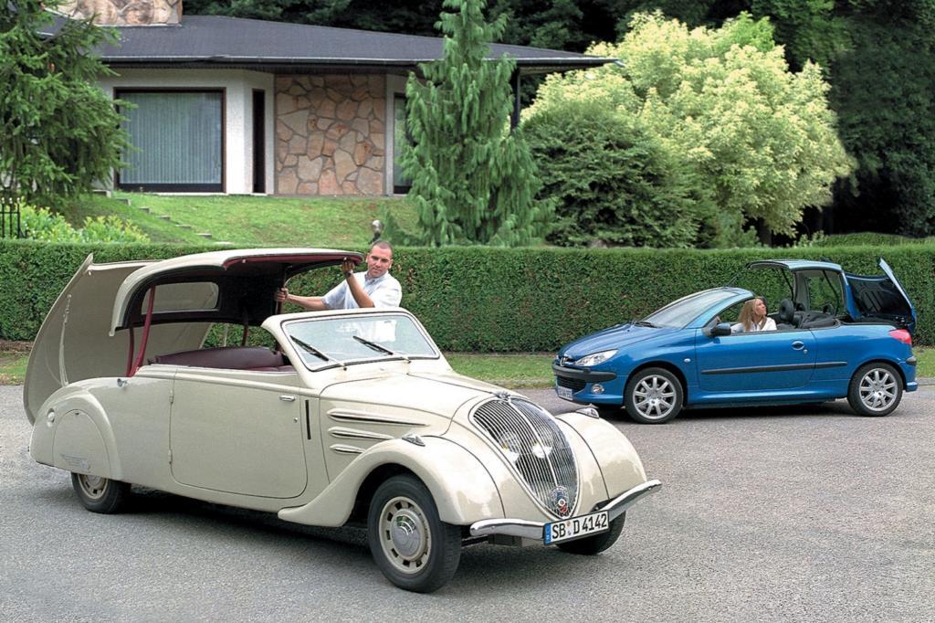 Der Peugeot Eclipse legte die Saat für moderne Cabrios wie den Peugeot 206 CC - Foto: Peugeot