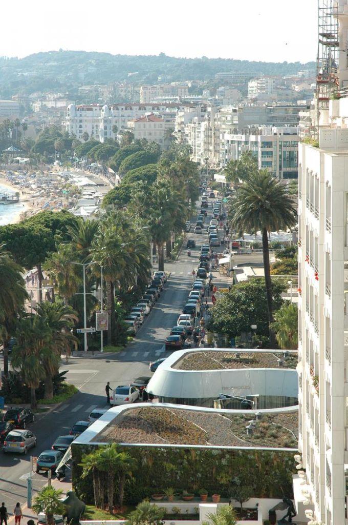 Der Promenade des Anglais in Nizza nachempfunden: Cannes' Croisette.