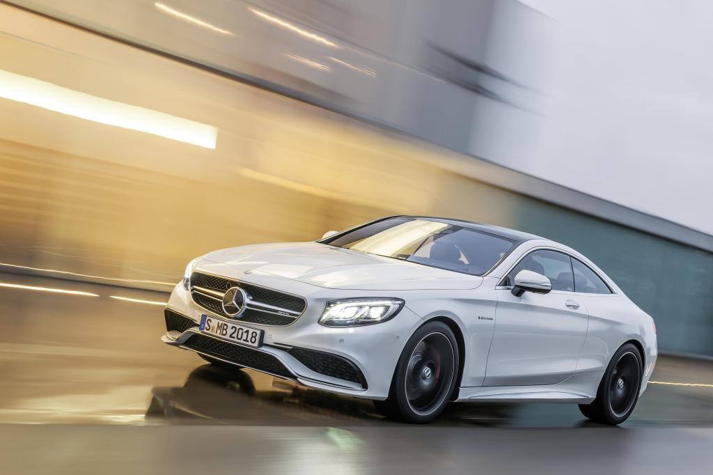 Der S-Klasse-Ableger, der als AMG-Modell gerade auf der New Yorker Autoshow Premiere gefeiert hat.