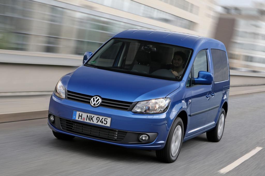 Der VW Caddy Bluemotion wirbt mit niedrigem Verbrauch