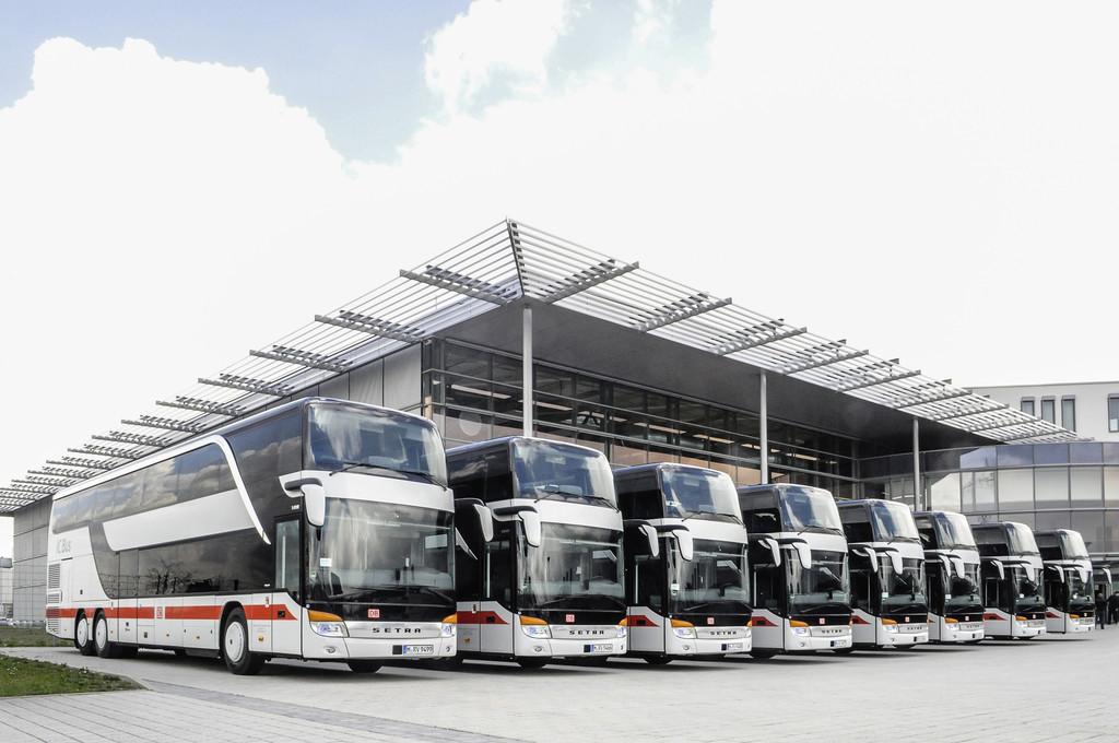 Deutsche Bahn erweitert Flotte mit Setra Doppelstockbussen