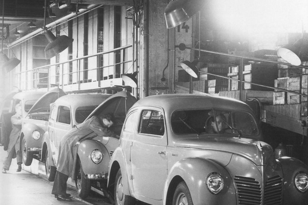 Die Ford-Taunus-Produktion in Köln ab 1948
