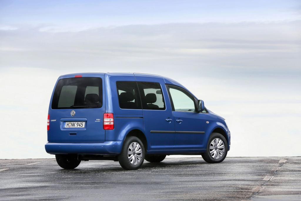 """Die Preisliste für den Caddy Bluemotion startet in der mager ausgestatteten Basisversion """"Startline"""" bei 21.985 Euro"""