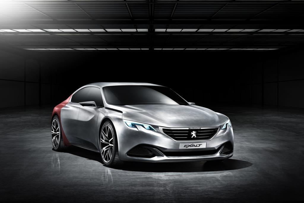 Die Studie Peugeot Exalt feiert in Peking Premiere