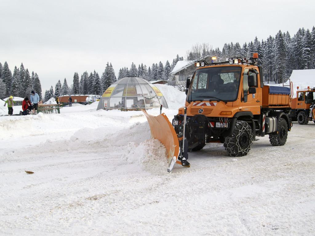 Erster Alpenpass in der Schweiz geöffnet